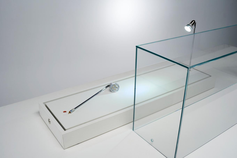 Particolare - apertura cupola in cristallo mod. TA