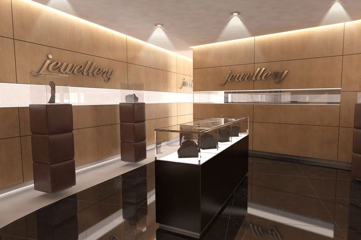 Arredamento negozio nolovetrine for Esempi di arredamento